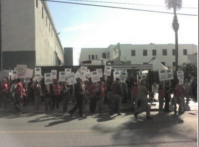 10 WGA Picket and Rally