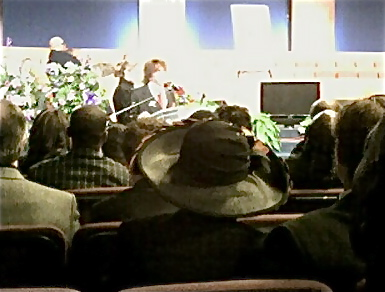Crappy cell pictures from Ikes funeral