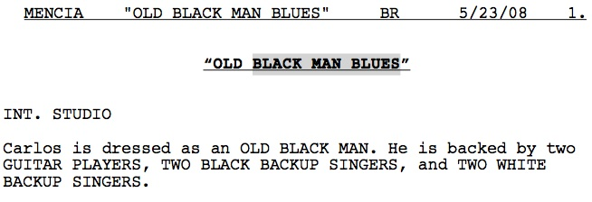 black mans blues Before and After: Mencias Black Man Blues