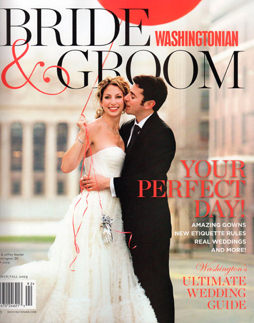 washcover JUGK in Washingtonian Bride & Groom magazine